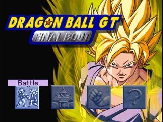 Screenshot Thumbnail / Media File 1 for Dragonball GT - Final Bout [U]